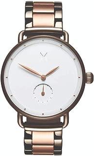 MVMT Bloom Taupe & Rose Gold Steel Ladies Watch - DFR01TIRGW