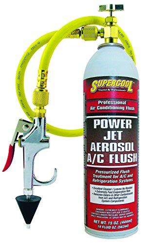 TSI Supercool 27637 Power Jet Aerosol A/C Flush, 15 fl. oz.