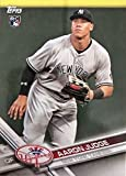 Aaron Judge 2017 Topps Limited Edition Mint Rookie Card #NYY-16 Found Exclusively in the New York Yankees Topps Factory Sealed Team Sets and Picturing him in his Gray Jersey