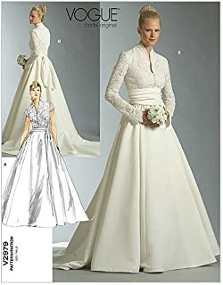 Vogue Patterns V2979 Misses'/Misses' Petite Dress and Sash, Size D (12-14-16)