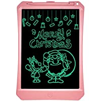 製図板用ライトパッド ホームオフィスライティング描画用タブレット高輝度手書き描画スケッチ落書き落書き落書きボードの書き方製図板用ライトパッド 11インチのLCDモノクロ画面ラフ手書き(ブラック) (色 : ピンク)