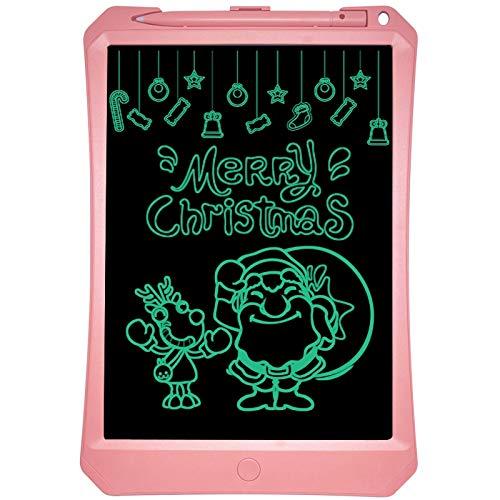 Lingling Zeer goed 11 inch LCD Monochroom Scherm Ruw handschrift Schrijven Tablet Hoge Helderheid Handschrift Tekenen Schetsen Graffiti Scribble Doodle Board voor Home Office Schrijven Tekenen (Zwart)