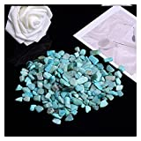 piedra natural 50G-100G Natural Cuarzo Blanco Cristal Mini falda Muestra Mineral Decoración para el hogar Colorido para acuario Curación de piedra moda simple ( Farbe : Amazon Stone , Größe : 100g )