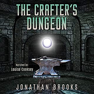 The Crafter's Dungeon: A Dungeon Core Novel cover art