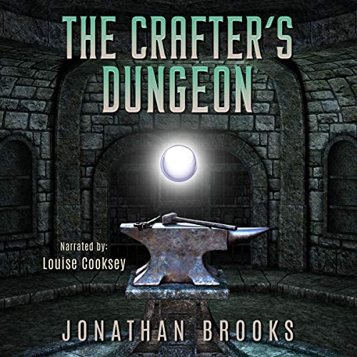 Page de couverture de The Crafter's Dungeon: A Dungeon Core Novel