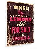 weewado Wenn das Leben Ihnen Zitronen gibt, Fragen Sie nach