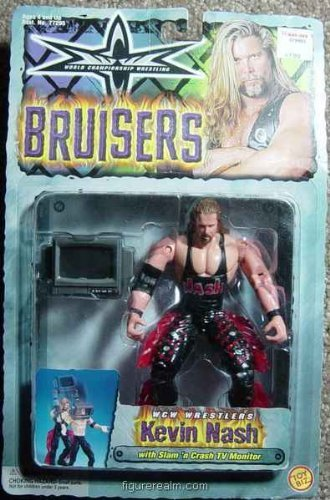 WCW BRUISERS- KEVIN NASH W/ TV MONITOR