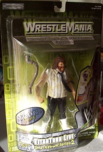 WrestleMania TitanTron Live Smackdown Series 2 MANKIND by Jakks Pacific