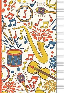 Libreta para Notacion Musical: Cuaderno de pentagramas - Musica Libreta A4 - 110 Páginas