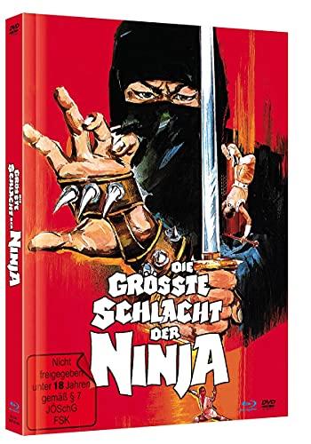 DIE GRÖSSTE SCHLACHT DER NINJA – COVER B - LIMITED MEDIABOOK EDITION [Blu-ray & DVD]