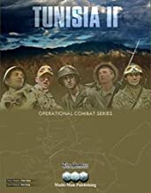 MMP: Tunisia II Boardgame, 2nd edition, in the Operation Combat Game Series