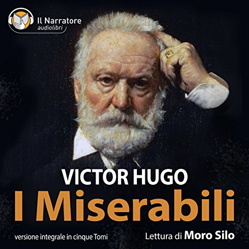 I Miserabili audiobook cover art
