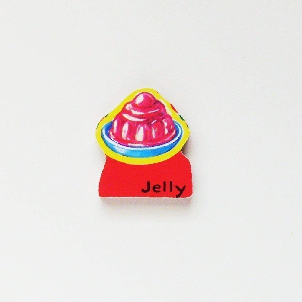Handmade Jelly Brooch - Pin ME2Designs In stock Vintage Upcycled Special sale item 1950s