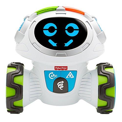 Fisher-Price Roby Robot Jouet éducatif pour Enfants à partir de 3 Ans avec Musique, Sons et chansons FLP12