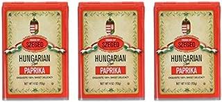 Szeged Paprika 4 Ounce (Pack of 3)