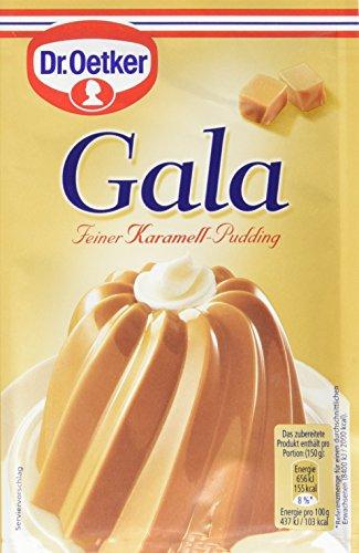 Dr. Oetker Gala Pudding-Pulver echt Karamel, 11er Pack (11 x 1.5 l Beutel)