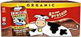 Horizon Organic, Lowfat Organic Milk Box With DHA Omega-3, Chocolate, 8 Fl. Oz (Pack of 18), Single Serve, Shelf Stable Organic Chocolate Flavored Lowfat Milk, Great for School Lunch Boxes, Snacks