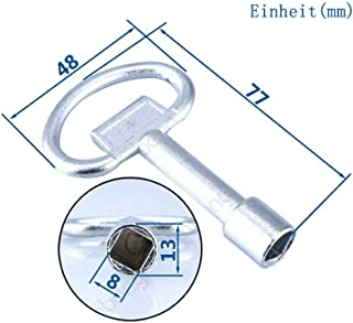 Panel Lock Key Universal Key Wrench Triangle Square Socket Key Train Electrical Cupboard Box Elevator Cabinet Switch square L