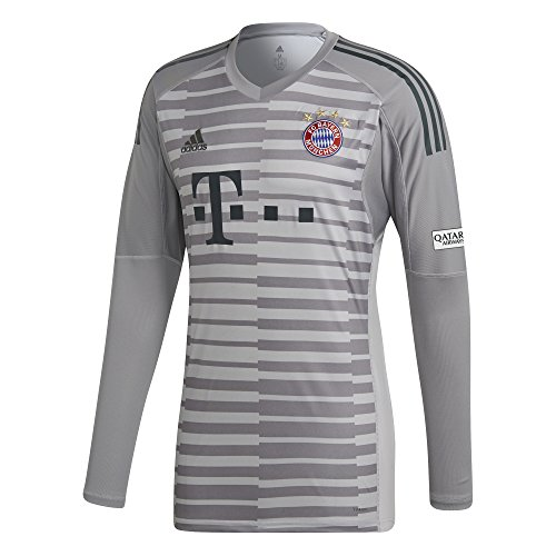 adidas Kinder 18/19 FC Bayern Torwart Trikot, Grey one/Light Granite/Utility ivy, 152