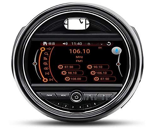 LINGJIE 9 Pollici Andriod 9.0 Doppio GPS DIN di Navigazione per BMW Mini Cooper SAT NAV Bluetooth Car Stereo USB WiFi Carplay Specchio Link 4 + 64G