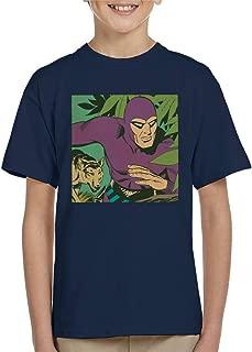 Comics Kingdom The Phantom & His Wolf Devil Kid's T-Shirt