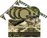 kit n.17 militare ispirato a tutti i colori della tuta mimetica dei soldati militari marines mimetico camouflage