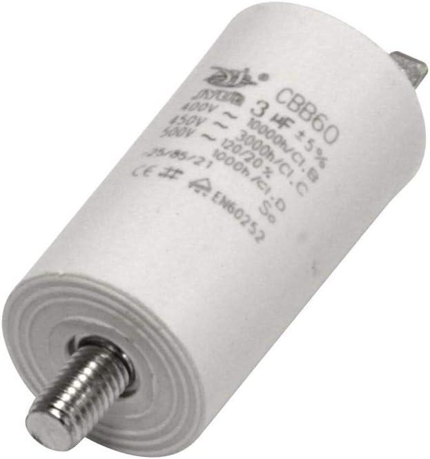 Kondensator 110 µf Uf Mit Flachstecker Anlaufkondensator Motorkondensator 450v Kondensatoren Beleuchtung
