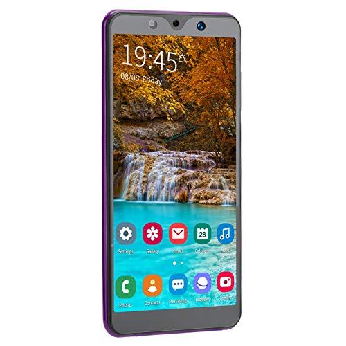 KIKYO Teléfonos Inteligentes desbloqueados, teléfonos Inteligentes desbloqueados Nuevos teléfonos celulares Note30 Plus 5.72in Teléfonos Inteligentes desbloqueados Nuevo procesador(Purple)