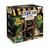 Diset - Escape Room The Jungle family edition - Juego de mesa familiar a partir de 10 años
