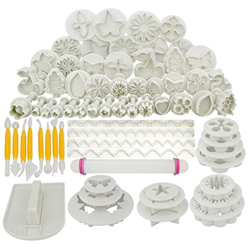 Our #5 Pick is the Marrywindix 68pcs Fondant Tools Set