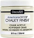 Artdeco DecoArt 8oz Vintage Americana Decor Chalky Acabado Pintura, acrílico, Lace, DecoArt 8 oz Lace