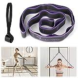 Cintura elastica per yoga Cintura elastica Cintura elastica per fitness Cintura per ginnastica Cintura elastica per yoga Allenamento per Danza Fisioterapia Principianti avanzati