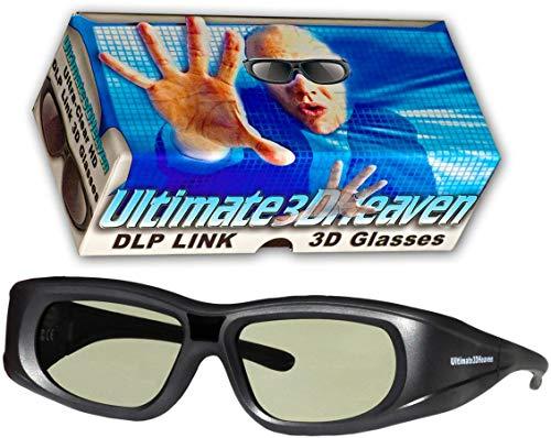 Ultra-Clear HD 144 Hz DLP Link 3D Active Rechargeable Shutter
