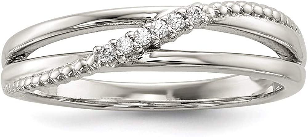 All items free shipping Ryan Jonathan Fine Jewelry Sterling Silver Cubic Ring mart Zirconia