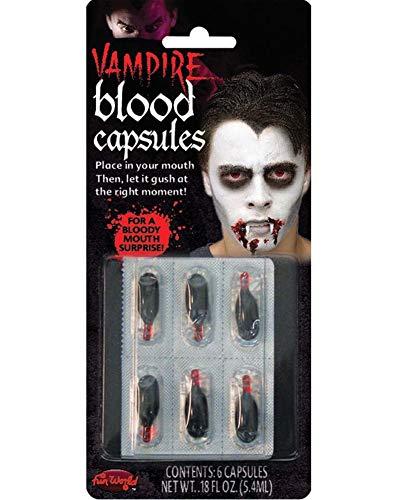 Halloween Vampire Blood Capsules