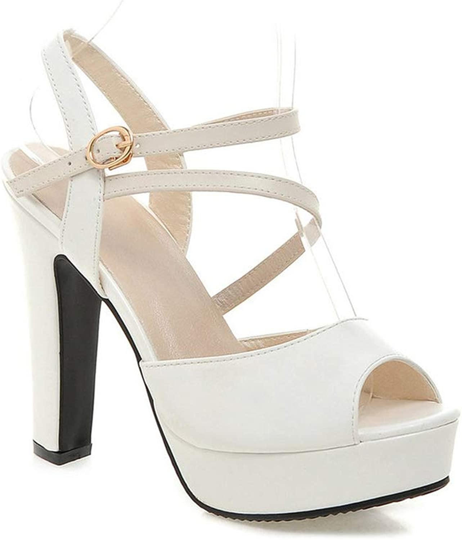 Women Pumps Women shoes Spring Autumn All Match Square High Heel Wedding shoes Pumps Size 34-43