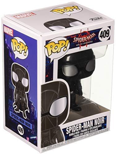 Funko 33978 POP Bobble: Marvel: Spider-Man: Into the Spider-Verse: Spider-Man Noir