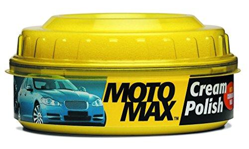 Motomax Bike & Car Cream Polish with Carnuba Wax and Micro Polishing Agents, (230gm)
