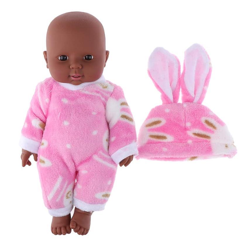 バレエ副産物富豪2色選ぶ アメリカベビードール 30cm赤ちゃん人形 子ども おもちゃ 新生児人形 - ピンク