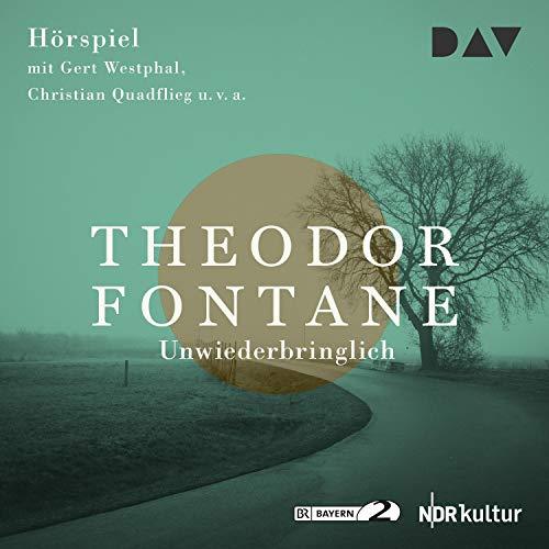 Unwiederbringlich audiobook cover art