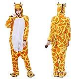 YQ&TL Unisex Adulto Animal Traje Pijamas Pijamas Cosplay Disfraces cómodos Pijama Mono Disfraces de Animales Mono Traje Animal Pijamas Carnaval Carnaval C L