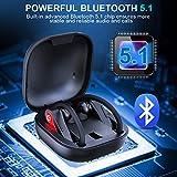 Zoom IMG-1 cuffie bluetooth sport auricolari 5