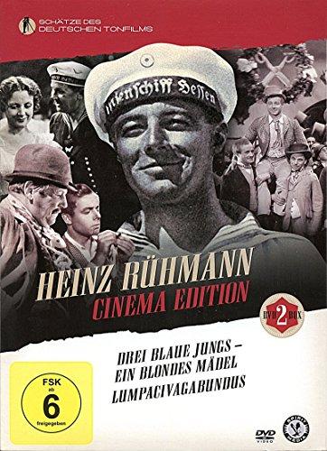 Lumpacivagabundus / Drei blaue Jungs - ein blondes Mädchen - Heinz Rühmann DVD-Set [2 DVDs]