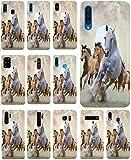 KUMO Hülle für Lenovo K5 Handyhülle Design 1025 Pferd