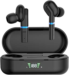 Bluetooth 5.0 True Wireless Earbuds with Charging Case for iPhone Android, 28H Playtime, IPX5 Waterproof, TWS Stereo Headp...