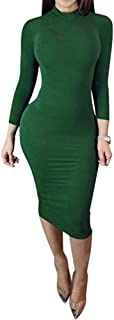 Best long sleeve body dress Reviews