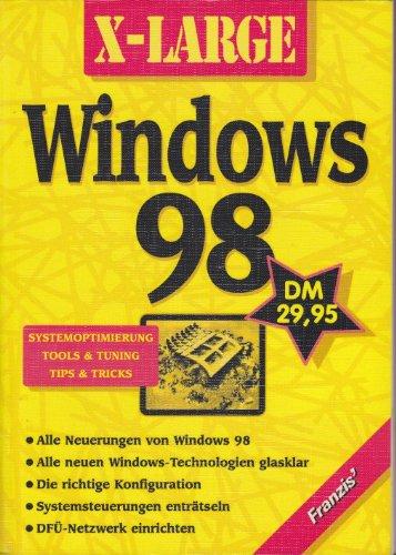 bester Test von windows tuning tools X-Large: Windows 98. Tools, Tipps und Tricks zur Systemoptimierung und -optimierung