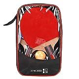 Keenso Set de Ping Pong, 1 Pala de Ping Pong con 3 Pelotas