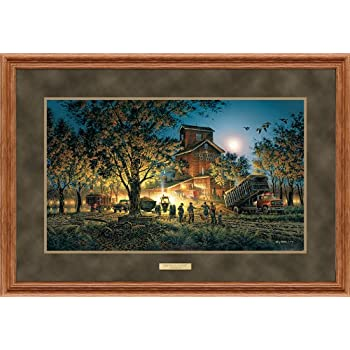Sunset Harvest Framed Elite Print by Terry Redlin