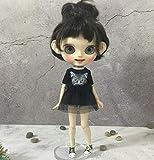 Studio one Lovely Black Dress Clothes for Blythe Doll 1/6 bjd 30 cm Doll 12 inch Doll